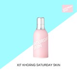 Xịt khoáng Saturday Skin Daily Dew Hydrating Essence Mist 130ml
