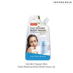 Gel tắm Yeppen Skin Daily Relaxing Body Wash Aqua Lily
