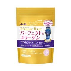 ASAHI Perfect Asta Collagen Powder Premier Rich with Placenta – 228g 30 Days
