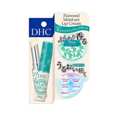 DHC Flavoured Moisture Lip Cream – Mint with Placenta