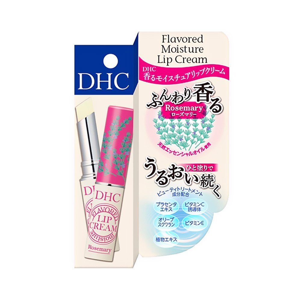 DHC Flavoured Moisture Lip Cream – Rosemary with Placenta