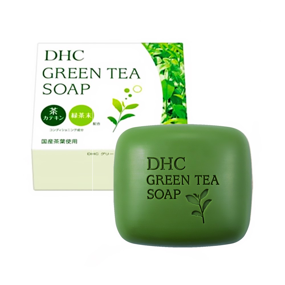 DHC Green Tea Soap – Japanese Version