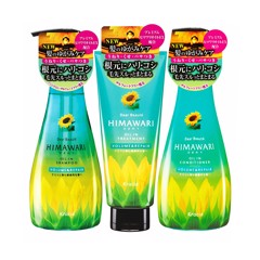 KRACIE Himawari Dear Beaute Oil in Shampoo + Conditioner + Treatment – Volume & Repair