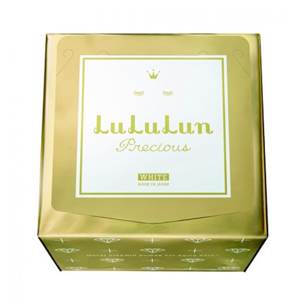 LULULUN Face Mask Precious WS WHITE – Anti-Aging with Plant Extract 32 Sheets