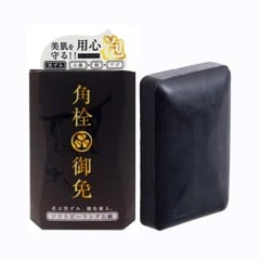 PELICAN Pore Soft Peeling Black Soap – 100g Made in Japan