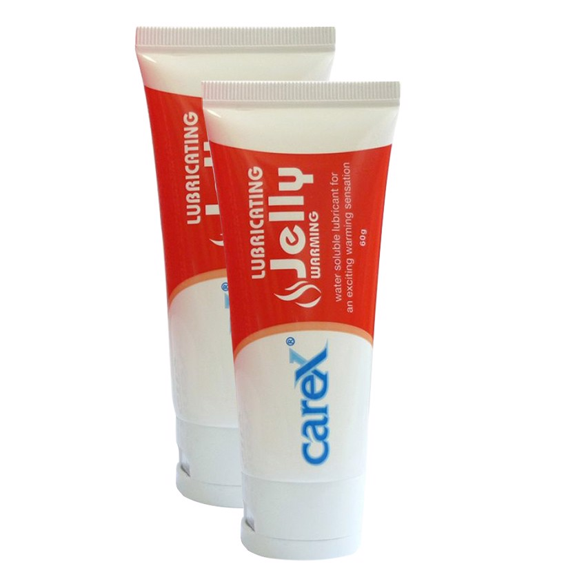 Combo 2 tuýp Gel Bôi Trơn CareX Jelly Warming