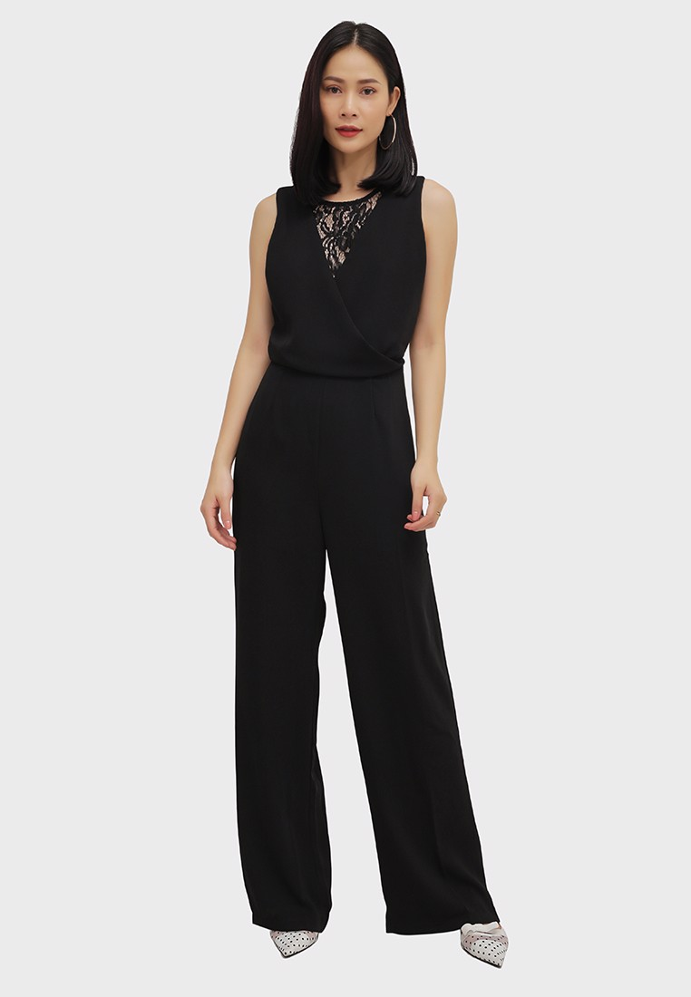 Jumpsuits Phối Ren Cotton Brothers