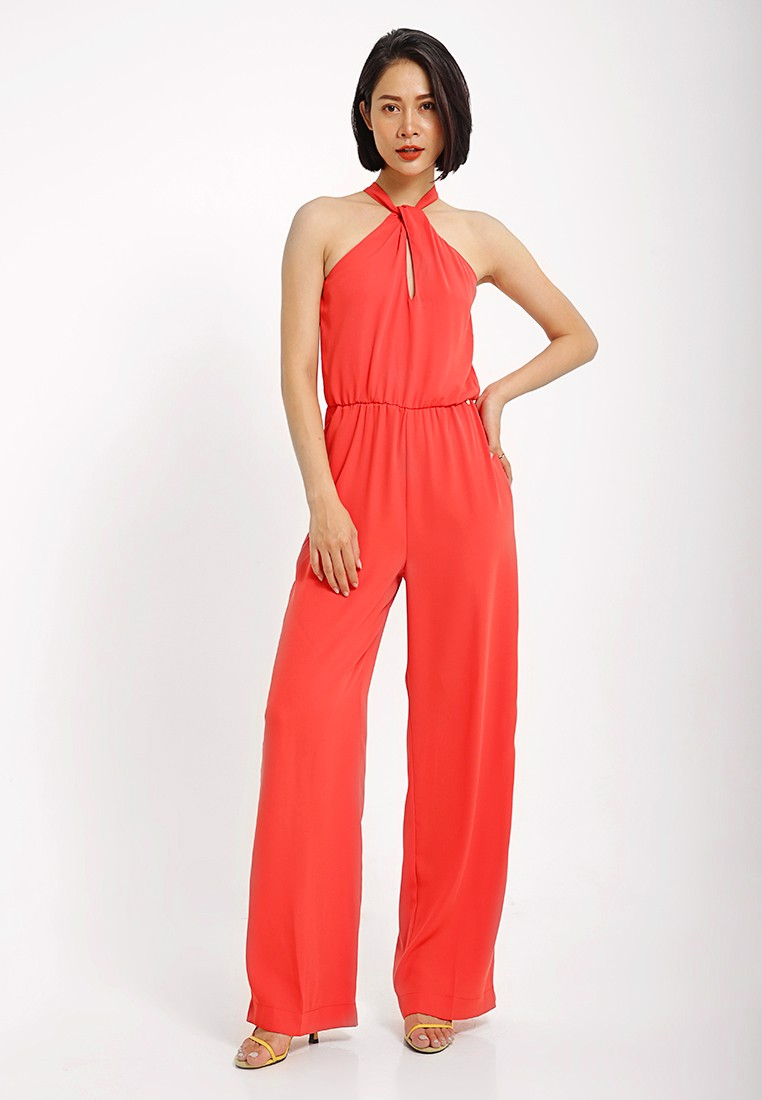 Jumpsuits Cổ  Yếm Cotton Brothers