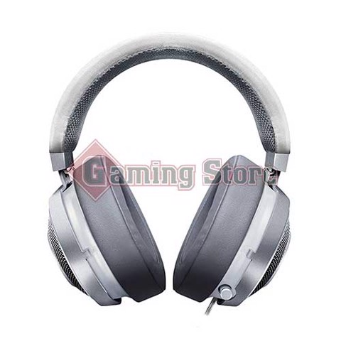Razer Kraken 7.1 V2  Mercury Edition - Digital Gaming Headset - Oval Ear Cushions