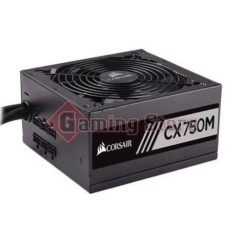 Corsair CX Series™ CX750M — 750 Watt 80 PLUS® Bronze Certified Modular ATX PSU