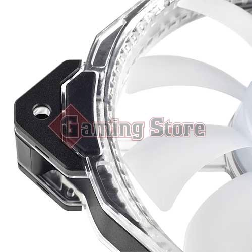 Corsair HD120 RGB LED High Performance 120mm PWM Fan — Three Pack with Controller