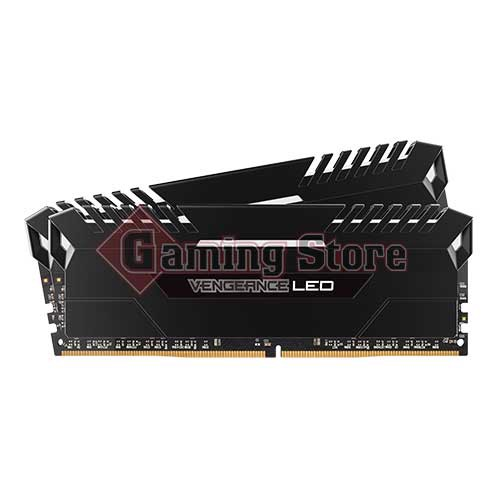 Corsair VENGEANCE® LED 16GB (2 x 8GB) DDR4 DRAM 2666MHz C16 Memory Kit - White LED