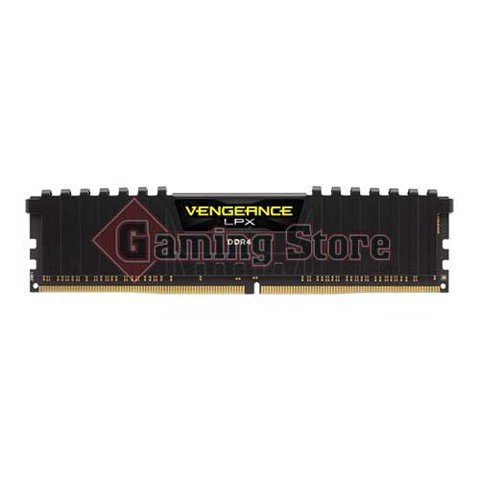 Corsair Vengeance® LPX 16GB (1x16GB) DDR4 DRAM 2400MHz C14 Memory Kit - Black