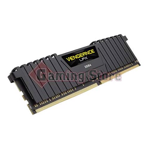 Corsair Vengeance® LPX 32GB (2x16GB) DDR4 DRAM 2400MHz C14 Memory Kit - Black