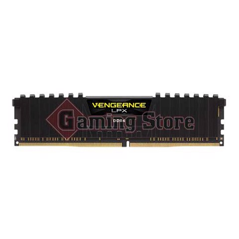 Corsair Vengeance® LPX 32GB (2x16GB) DDR4 DRAM 2666MHz C16 Memory Kit - Black