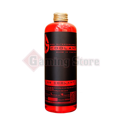 GS Coolant 500ml Red