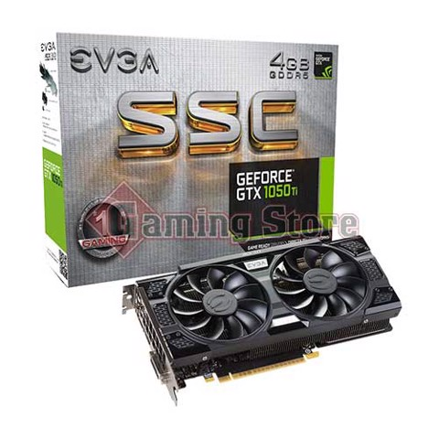 EVGA Geforce GTX 1050 Ti SSC Gaming 4GB GDDR5