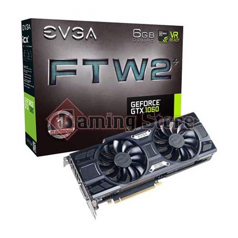 EVGA Geforce GTX 1060 FTW2 Gaming 6GB GDDR5