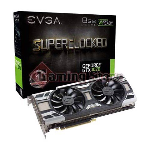 EVGA Geforce GTX 1070 SC Gaming 8GB GDDR5