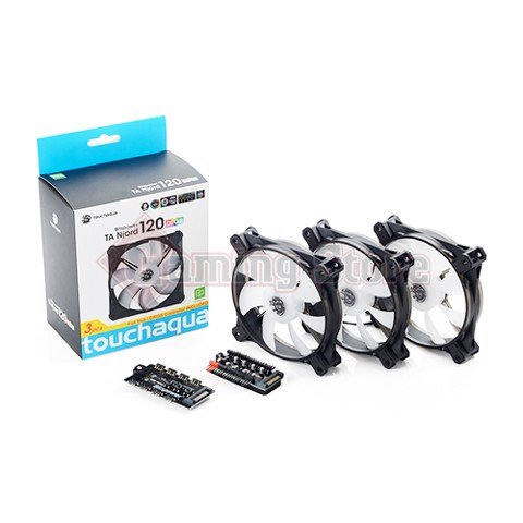 Bitspower Touchaqua TA Njord 120 Digital RGB (3 packs)