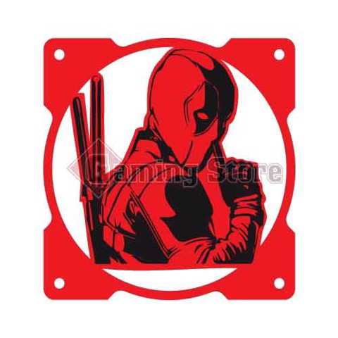 Gaming Store Grill Fan Deadpool GS18