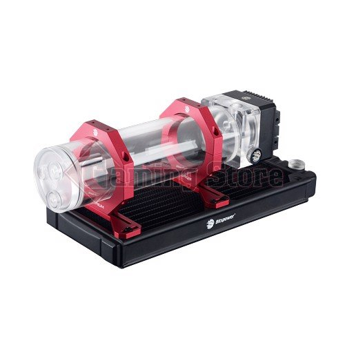Bitspower Premium Reservoir Mount Abrasive Red