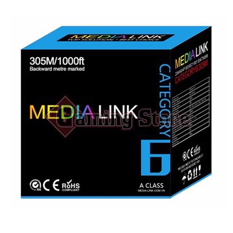 Media Link Cable UTP CAT6 (IU6-1-004)