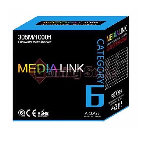 Media Link Cable UTP CAT6 (IU6-1-007)