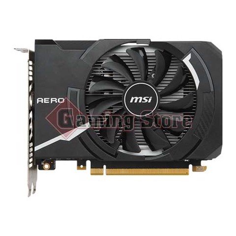 MSI GeForce GTX 1050Ti Aero ITX 4G OC (1 fan)