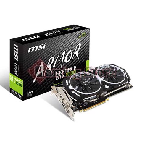 MSI GeForce GTX 1060 Armor 6G OCV1