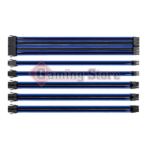 Thermaltake TtMod Sleeved Cable (Blue/Black)
