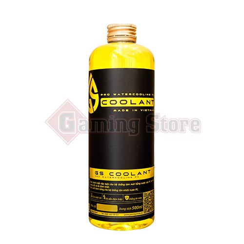 GS COOLANT 500ML Yellow