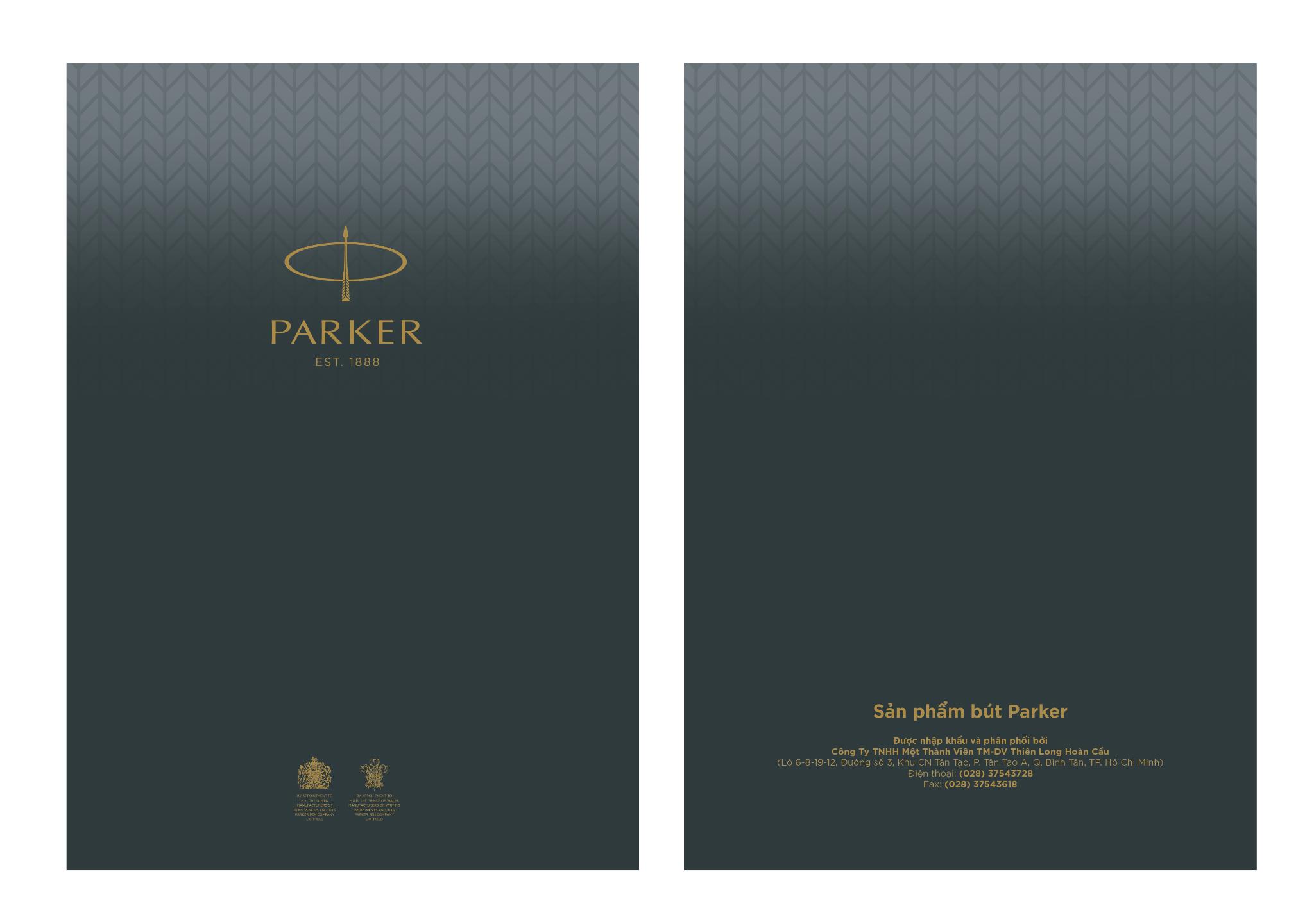 Sổ tay cao cấp Parker A5
