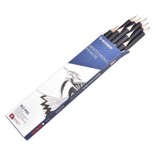 Bút chì gỗ cao cấp Bizner BIZ-P03