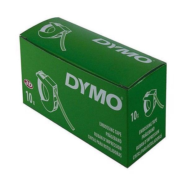 Tem in nhãn Dymo 9mm x 3m xanh lá