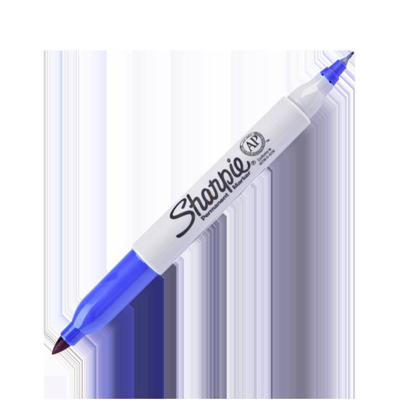 Bút Ld Sharpie Twin Tip Xanh Dương 32203