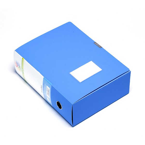 Bìa hộp PP100 A4 FO-BF03 xanh TLFOBF03