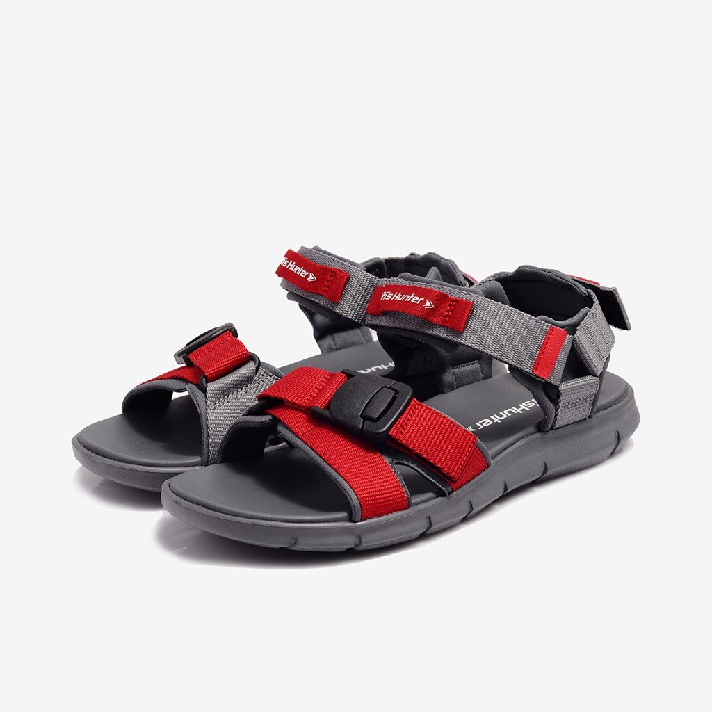 sandal nam biti s hunter preppy red demh00200doo do