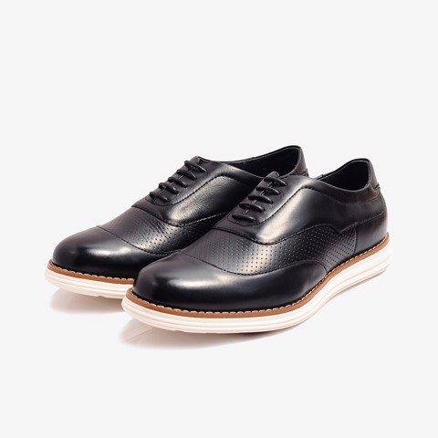 Giày Tây Da Nam Cao Cấp Biti's X DMM359880DEN (Đen)