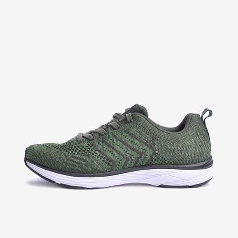 giày thể thao nam biti's hunter pine green   bst holiday on the move dsm068233reu (rêu)