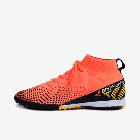 giày bóng đá nam biti's hunter football high top flame orange dsmh03800cam (cam)