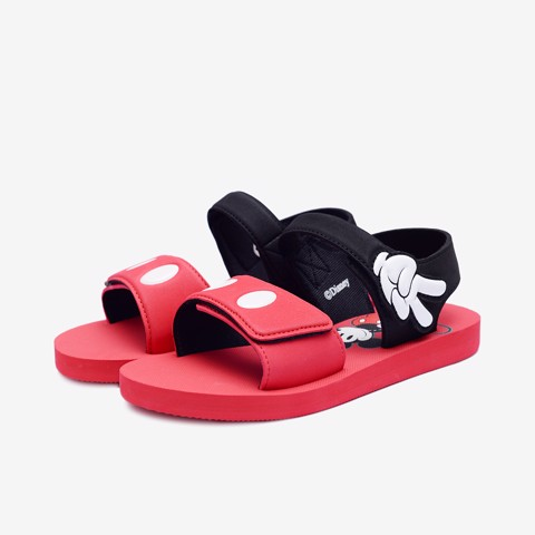 Sandal Xốp Trẻ Bé Gái Biti's Mickey DXB124211DOO (Đỏ)