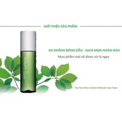 Nước Hoa Hồng Tràm Trà NARUKO - Tea tree shine control and blemish clear toner 150ml