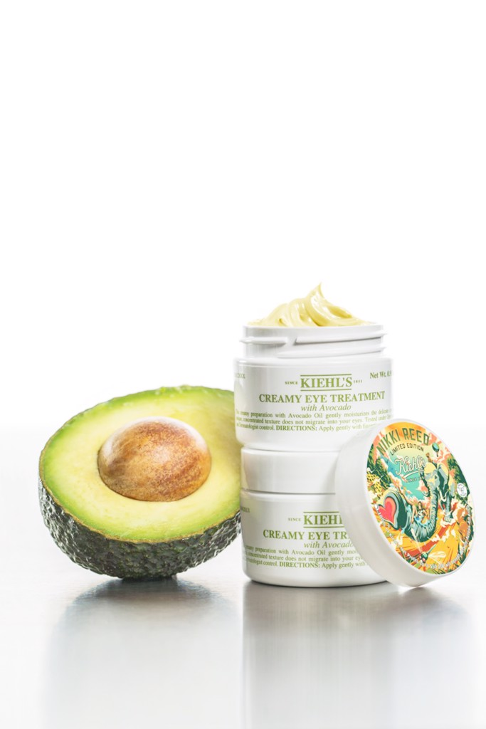 eye treatment with avocado