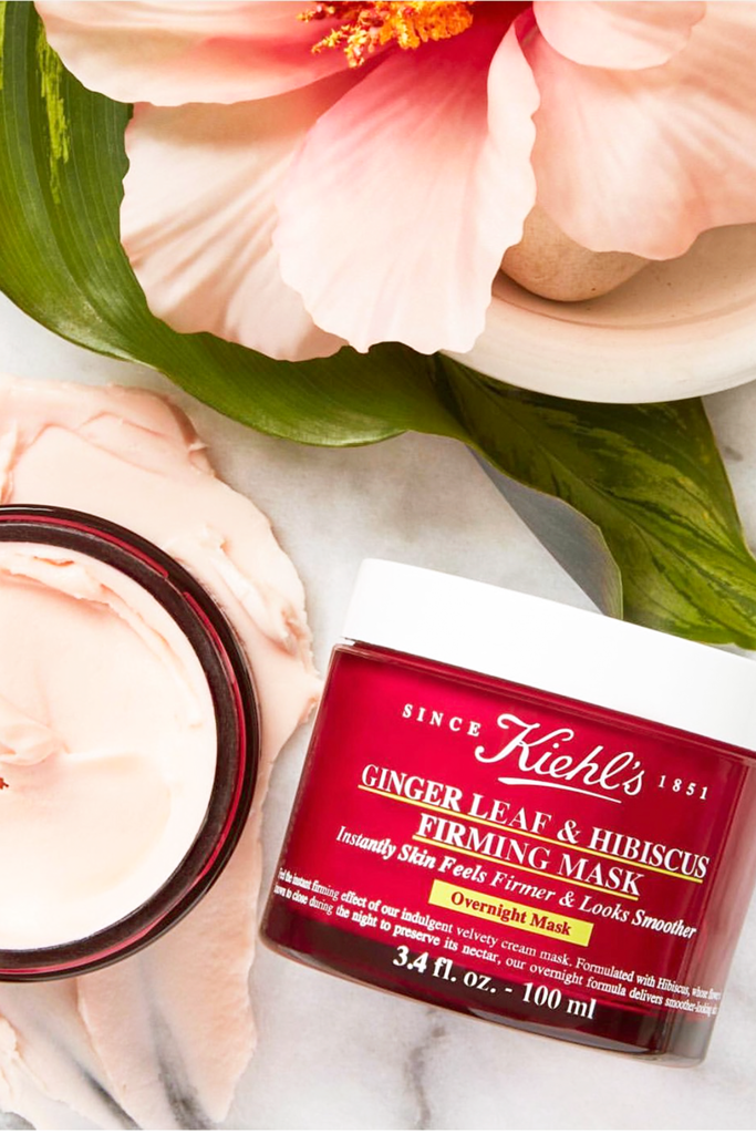 kiehl s ginger leaf and hibiscus firming mask