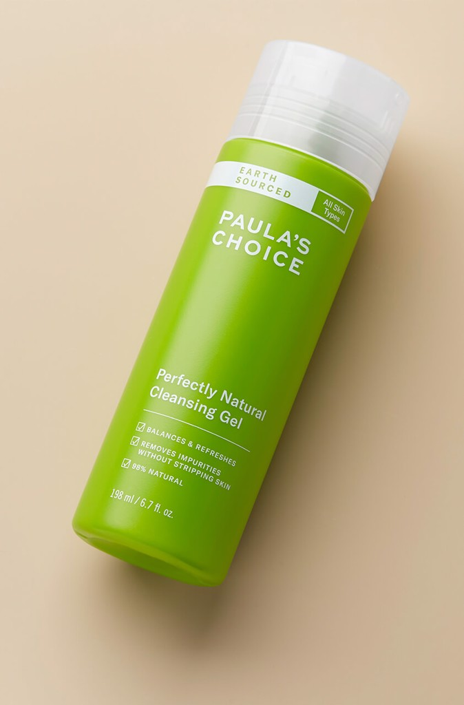 earth sourced perfectly natural cleansing gel