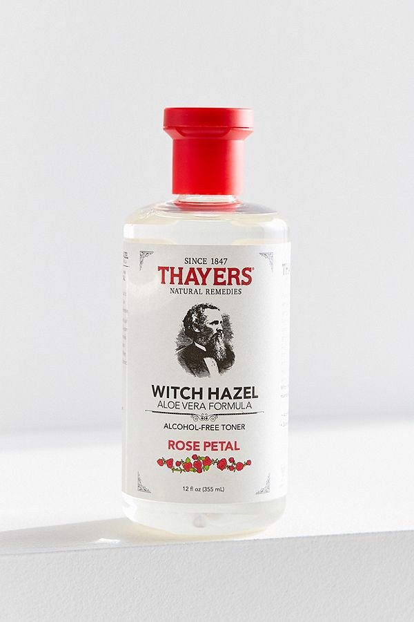 alcohol free witch hazel rose petal