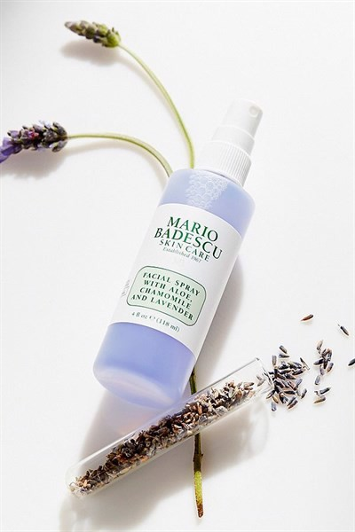 facial spray with aloe chamomile and lavender