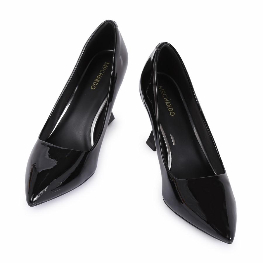 Giày CG gót kiểu da bóng HD-39