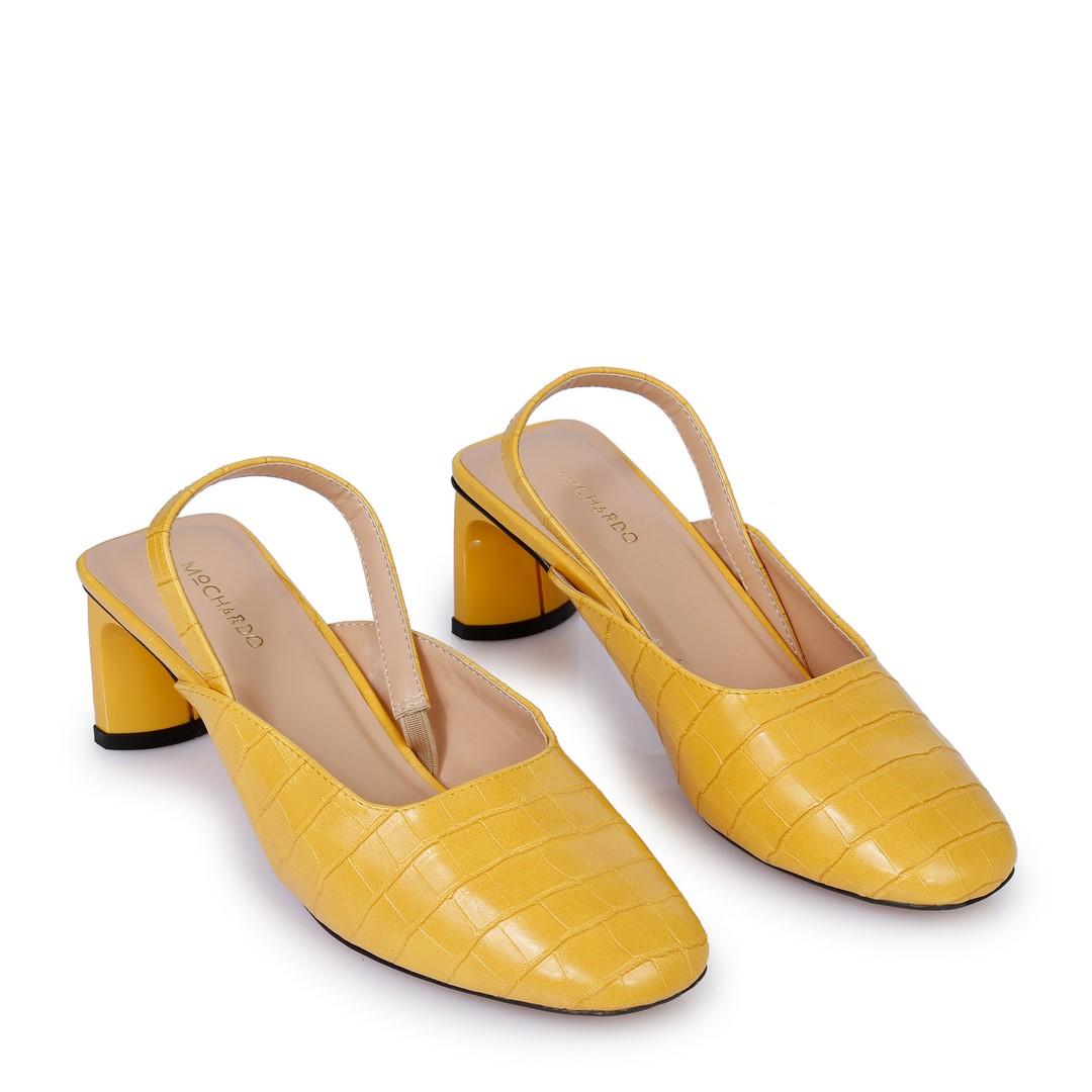 Giày Cao Gót Nữ FA-1 Vàng